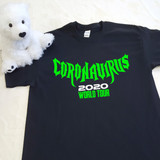 Coronavirus 2020 World Tour | Black Shirt in Ladies and Adult Sizes