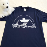 Walt Disney Themed - Social Distancing | Shirt in All Sizes