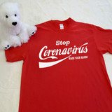 Stop Coronavirus - Wash Your Hands Coke Themed | Shirt in All Sizes