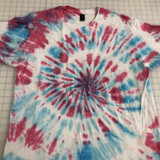 Handmade Cotton Candy Themed Sprial Tie Dye | Shirt in All Sizes