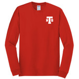 Tomlinson middle school red long sleeve shirt