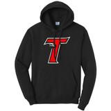 Thunderbird T - Pullover Hooded Sweatshirt