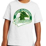 Dragon Head - Short Sleeve T-shirt in Youth and Adult sizes