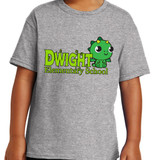 Dwight Kawaii Dragon - Short Sleeve T-shirt in Youth and Adult sizes