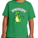 Dwight Mascot - Short Sleeve T-shirt in Youth and Adult sizes