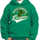 Dragon Head - Pullover Hooded Sweatshirt