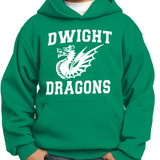 Dwight Dragons - Pullover Hooded Sweatshirt