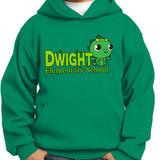 Dwight Kawaii Baby Dragon Pullover Hooded Sweatshirt