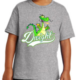 Dwight Script - Short Sleeve T-shirt in Youth and Adult sizes
