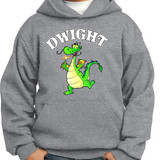 Dwight Mascot - Pullover Hooded Sweatshirt