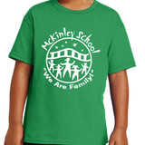 McKinley Classic School Logo Short Sleeve T-shirt in Youth and Adult sizes