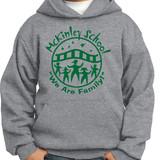 McKinley Classic School Logo Pullover Hooded Sweatshirt