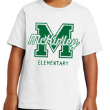 McKinley Varsity Short Sleeve T-shirt in Youth and Adult sizes