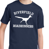 Riverfield Roadrunners Short Sleeve T-shirt in Youth and Adult sizes