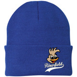 Riverfield Cuffed Solid Royal Blue Beanie