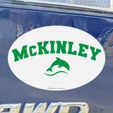 "McKinley 4"" x 6"" Oval Car Magnet"