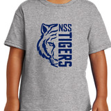 North Stratfield Tigers Short Sleeve T-shirt in Youth and Adult sizes