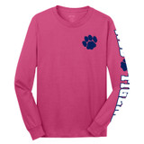 North Stratfield Paw Print Long Sleeve Shirt in Youth and Adult Sizes