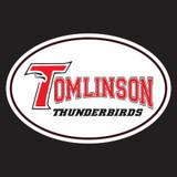 "Tomlinson 4"" x 6"" Oval Car Magnet"