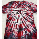 Thunderbird T Hand-made Tie-dyed T-shirt in Youth and Adult Sizes