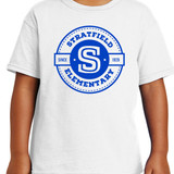 Stratfield Elementary Short Sleeve Shirt in Youth and Adult Sizes
