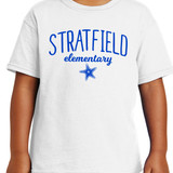 Stratfield Elementary Starfish Short Sleeve Shirt in Youth and Adult Sizes