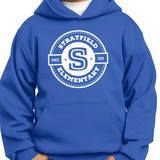 Stratfield Elementary Pullover Hooded Sweatshirt in Youth and Adult Sizes