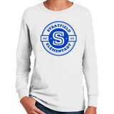 Stratfield Elementary Classic Logo Long Sleeve Shirt in Youth and Adult Sizes