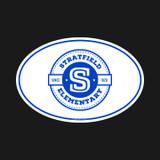 "Stratfield Elementary 4"" x 6"" Oval Car Magnet"