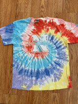North Stratfield Hand-made Pastel Tie-dyed T-shirt in Youth and Adult Sizes