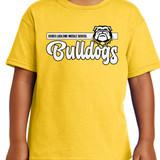 RLMS Script Bulldogs on yellow