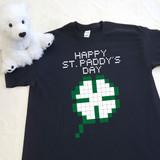 8-Bit Shamrock Youth Shirt