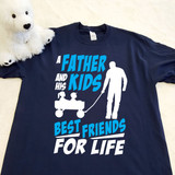 A Father and his Kids Best Friends for Life Youth Shirt