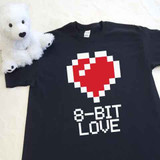 8-Bit Love Youth Shirt