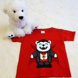 Vampire Puddles Shirt in Baby and Toddler Sizes