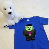 Franken Puddles Shirt in Baby and Toddler Sizes