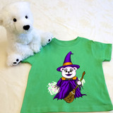 Puddles the Witch Shirt in Baby and Toddler Sizes