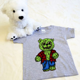 Zombie Puddles Shirt in Baby and Toddler Sizes