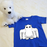Puddles the Ghost Shirt in Baby and Toddler Sizes