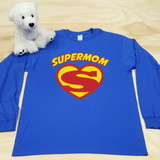 Supermom Adult Long Sleeve shirt