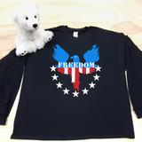 US Eagle Adult Long Sleeve Shirt