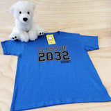 Class of Shirt with Year and Name Youth Shirt