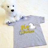 Five and Fabulous Horse Shirt in Baby and Toddler Sizes