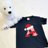 Christmas Letters Shirt in Baby and Toddler Sizes
