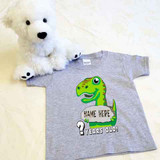 Happy Birthday T-Rex Shirt in Baby and Toddler Sizes