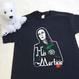 His Morticia Adult Shirt