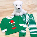 Christmas Lil Elf Pajamas in Baby and Toddler Sizes