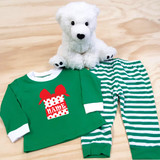 Christmas Present Pajamas in Baby and Toddler Sizes