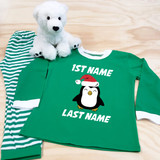 Christmas Penguin Youth Pajamas