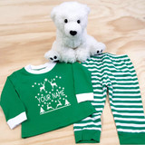 Ugly Christmas Pajamas in Baby and Toddler Sizes